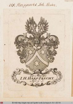 Virtuelles Kupferstichkabinett Ex Libris, Letterhead, Renaissance, Medieval, Vintage World Maps, History, Book, Artist, Design