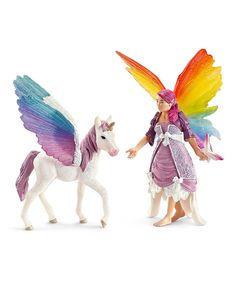 Look at this Lis & Pegasus Figurine Set on #zulily today!