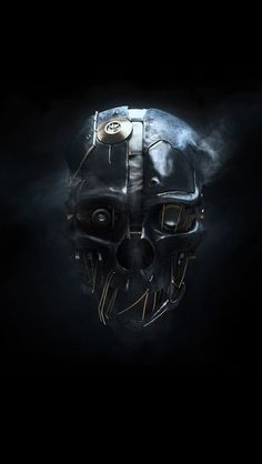 Dishonored mask iPhone 5 Wallpaper