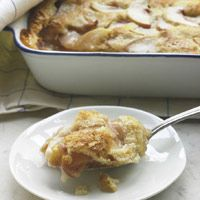 Katie Lee's Peach Cobbler... My family loved! Made it exactly as recipe called for. Easy!