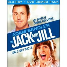 Jack and Jill (2 Discs) (Blu-ray/DVD) (Includes Digital Copy) (UltraViolet)