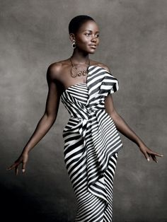 it doesn't get to be more beautiful than Lupita Nyong