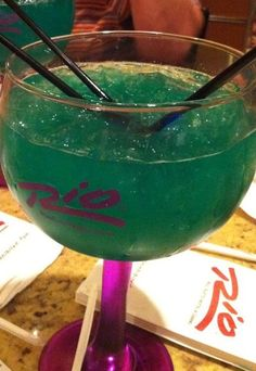 Blue Amazon... Awesome drink in Vegas