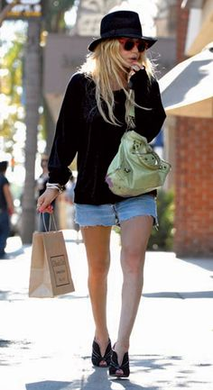 #marykateolsen #hat #messystyle