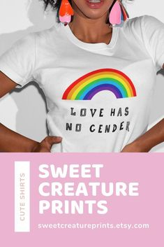Love Has No Gender. This lgbtq shirt is perfect for any pride event. Click through to view more styles #lgbt #pride