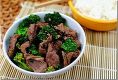 Healthy and yummy Beef & Broccoli recipe.  Must try.