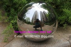 250 mm in diameter 304 Stainless steel ball, hollow ball, decoration ball, hang adornment, furnishing articles,floating ball