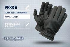 PPSS #SlashResistantGloves (Classic) with optional #needleresistance