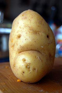 Lach doch mal Kartoffelmann...;)