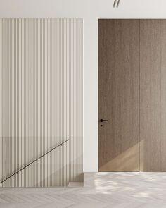 Hallway #hallway #modernhallway #minimalistichallway #minimalism #minimalisticarchitecture #minimalisticinterior #architecture #modernarchitecture #design #moderndesign #ideasforhallway Modern Hallway, Minimalist Interior, Modern Architecture, Minimalism, Modern Design, Room, House, Interiors, Furniture