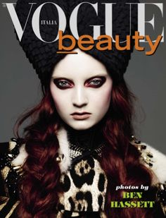 Codie Young by Ben Hassett for Vogue Italia Beauty Supplement, November 2012