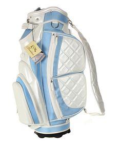 Light Blue & Pearl Verona Golf Bag by Burton. SO PRETTY!!!