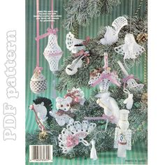 Victorian Ornaments Crochet Pattern PDF | CraftyLine e-pattern shop