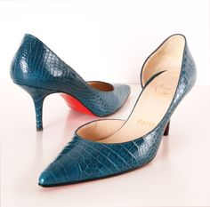 Finally a Louboutin I can wear. Beautiful!