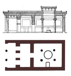 Megaron Plan Mycenaean, Minoan, Ancient Greek Art, Ancient Greece, Sacred Architecture, Architecture Plan, Fantasy World Map, Archaeological Site, Civilization