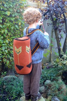Back to School – Backpacks to Crochet – 34 free patterns – Grandmother's Pattern Book