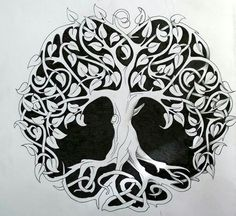 Celtic tree of life tattoo-design. Celtic tree of life tattoo-design. Celtic Symbols, Celtic Art, Celtic Knots, Mayan Symbols, Egyptian Symbols, Ancient Symbols, Tattoo Life, Roots Tattoo, Design Celta