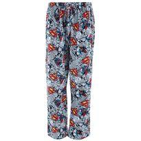 Superman Comic Strip Cotton Pajama Pants for Men