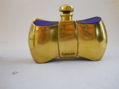 Vintage Guerlain 'Coque D'Or' Perfume Bottle and Box - Baccarat