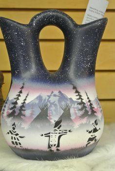 Native American Wedding Vase By Shadowgifts On Etsy 4000