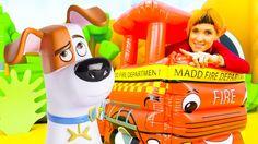 Видео для детей. ВЕСЕЛАЯ ШКОЛА NEW. Маша КАПУКИ КАНУКИ и игрушки тайная ...