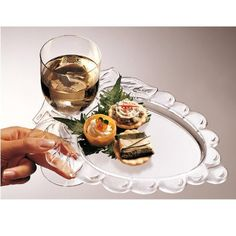 Prodyne AG-9 Embossed Grape Wine Holder Plates Set of Four  sc 1 st  Pinterest & TRIANGLE PLASTIC BLACK 9