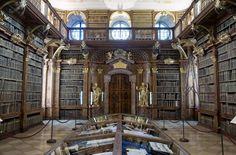 Bibliothèque de l'abbaye de Melk, Autriche