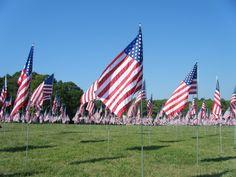Field of Flags--Kennesaw Mountain--Kennesaw, GA