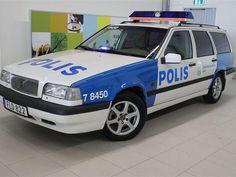 Volvo 855 GLT 170hk Polisbil
