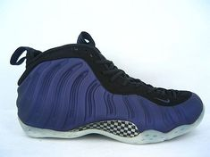 3ec5fd581f7 foamposites 2012 new shoes Air Foamposite One Penny Hardaway Black Purple  Shoes