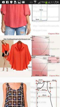 Diy Fashion, Patterns, Blog, Polka Dots, Block Prints, Diy Clothing, Pattern, Models, Templates