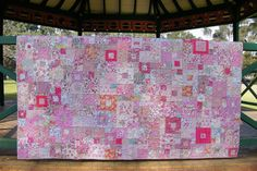 Liberty of London  Shades of Pink Liberty Quilt