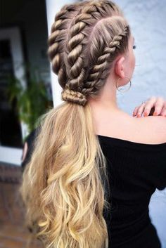 Top 60 All the Rage Looks with Long Box Braids - Hairstyles Trends Box Braids Hairstyles, Hairstyles Haircuts, Cool Hairstyles, Hairstyle Ideas, Wedding Hairstyles, Evening Hairstyles, Long Braided Hairstyles, Kids Hairstyle, Ethnic Hairstyles
