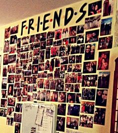 Make The Letters FRIENDS Put It Either In Closet Or A Wall My Room