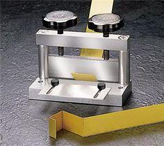 Mini Bending Brake Produces Sharp, Clean Bends in Metal