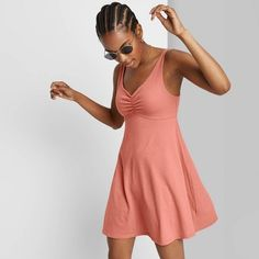 Athletic Dresses, Skater Dress, Knit Dress, Dress Making, Fitness Fashion, Sleeve Styles, Lounge Wear, Cute Outfits, How To Wear