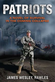 Patriots: A Novel of Survival in the Coming Collapse by James Wesley Rawles. As a prepper this is a must have on my bookshelf. And it totally satisfies my inner conspiracy theorist ;for hubby Books To Read, My Books, Survival Books, Survival Skills, Zombies Survival, Survival Items, Survival Mode, Survival Stuff, Books