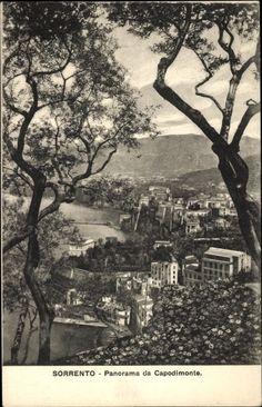 Sorrento Campania, Panorama da Capodimonte