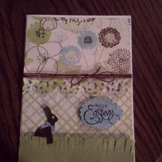 Easter card I made for our swap!!