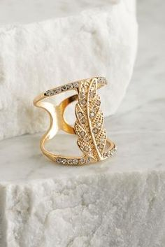 Versona open leaf ring #Versona