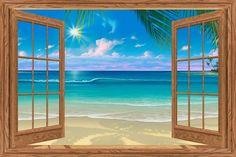 View of Paradise via MuralsYourWay.com