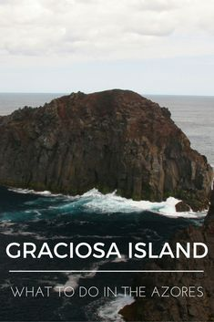 """""""What to do in the Azores: Graciosa Island"""" is the fourth installment of a series of nine blog posts about the Azores islands. The posts are meant to give you a detailed overview of each one of them to help you plan your trip, whether you decide to visit one, two, or all nine."""