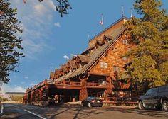 Old Faithful Inn at Yellowstone.  Future family vacation, I hope!