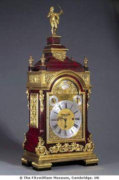 Clock    England, 1706    The Fitzwilliam Museum