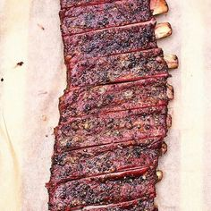 I want these ribs so bad. Ribs and pic courtesy of the very talented @marycressler -  And these ones go out to all you dry rib lovers in the house!!!  What's your style?  #Grill #Grilling #BBQ #Barbecue #FoodPorn #GrillPorn #Pork #PorkPorn #Ribs #Food #FoodPhotography #foodgasm #foodography #instafood #foodiegram #foodie #foodstagram #foodpics #Meat #MeatPorn #meatlover #Paleo #GlutenFree #BrotherhoodofBBQ #EEEEEATS #ForkYeah #OnTheTable #beautifulcuisines #vscofood