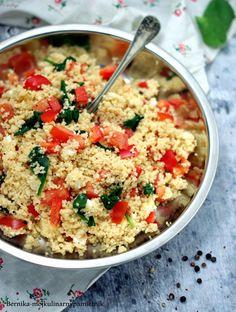 Feta, Chana Masala, Risotto, Ethnic Recipes, Gastronomia
