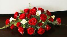 Natural Touch Roses Long Arrangement - YOUR Colors!