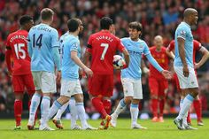Liverpool 3 Manchester City 2 It was one of those Anfield days that will be recalled through the ages. Riding on a wave of euphoria, emotion and popular support, Liverpool took a giant stride towards the Barclays Premier League title as Philippe Coutinho's late goal left Manchester City devastated.