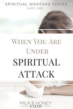 Spiritual Warfare Series:  Recognize the signs when you are in spiritual warfare.  Prepare for the battle. #spiritualwarfare #milkandhoneyfaith