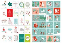 Heart Handmade UK: 45 Free Christmas Printables